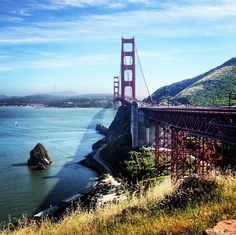 San Francisco, CA #SunshineState #GoldenGate #BayArea Sunshine State, Golden Gate Bridge, Bay Area, San Francisco, Bucket, California, Spaces, Adventure, Inspired