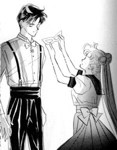 Sailor Moon Tuxedo Mask  Pretty much my favorite part of the entire series.