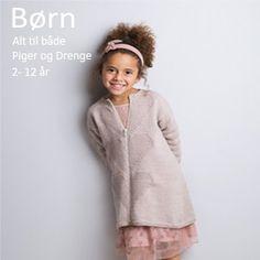 Gratis strikkeopskrifter - Stor samling af opskrifter til strik - Filato.dk Diy For Kids, Pullover, Knitting, Sweaters, Baby, Fashion, Projects, Moda, Tricot