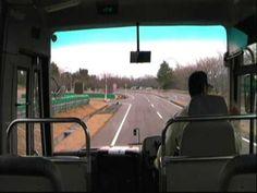 3.11東日本大震災 バス車内にて震度6強の決定的瞬間