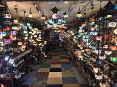 Bohemian lights shop #Arab street # singapore