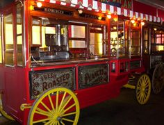Vintage Popcorn & Peanut Wagon