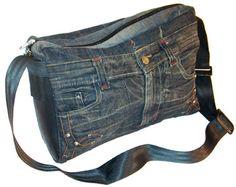 Make A Shoulder Bag From Jeans 79