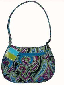 8c440ceb36 Silk Paisley Zoe Bag. Allison Cusher · Vera Bradley Love