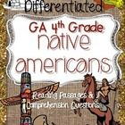 Our newest product, Native Americans bundle, addresses GA Fourth Grade Social Studies and Reading Standards! *Differentiated, too!*