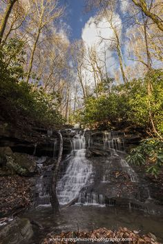 Sugar Run Falls, Ohiopyle State Park, Fayette County, PA. Photographed 11.24.2014.