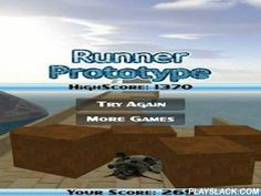 Runner Prototype  Android Game - playslack.com , Runner Prototype - Not evil runner, in which you astir to direct a robot, who needs to overcome hindrances in his route, differently you will commence the stage anew, for each navigable meters scores will be added.