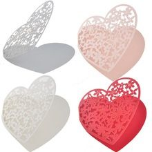 12 шт./упак. 60 шт./лот лазерной резки в форме сердца любовь место на стекле подарок на свадьбу ну вечеринку украшения свадебной(China (Mainland))