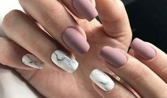 "If you're unfamiliar with nail trends and you hear the words ""coffin nails,"" what comes to mind? It's not nails with coffins drawn on them. It's long nails with a square tip, and the look has. Nail Polish, Nail Manicure, Manicures, Gel Nails, Manicure Ideas, Coffin Nails, Stiletto Nails, Cute Acrylic Nails, Cute Nails"