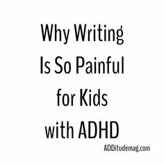 ADHD students suffer from executive functioning problems that make reading, writing and math particularly difficult. Adhd Odd, Adhd And Autism, Adhd Help, Adhd Brain, Adhd Diet, Adhd Strategies, Dysgraphia, Adult Adhd, Executive Functioning