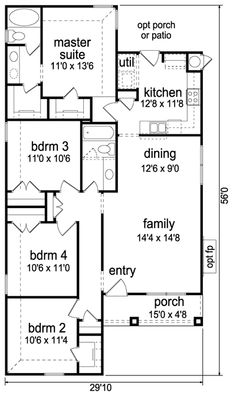 Southern House Plans And Blueprints From DesignHouse   1.888.909.PLAN