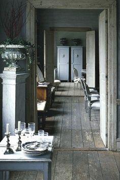 Wooden floors inspiration - décoration bois