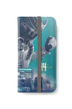 Wallpaper Lewis Hamilton Iphone Wallet Case by verohasan35