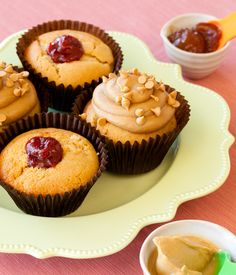 PB Cupcake at Sweet Arleen's, also featured in Handstand Kids Cooking Around the World Cooking Kit!