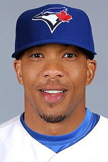 Ben Revere - 2015 Blue Jays Left Fielder. So love seeing this guy smile and laugh in the dugout. His smile is infectious.