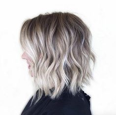 Textured choppy bob by Two Chairs