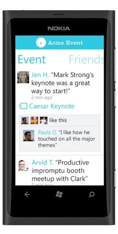 Flock by DoubleDutch - Mobile event app