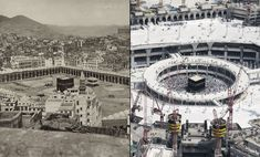 A series of photographs on Mecca and its surrounding area taken sometime around 1887 by the photographer Al Sayyid Abd al Ghaffar, compared with images from similar locations taken in 2015.