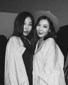 Jessi and Hyuna