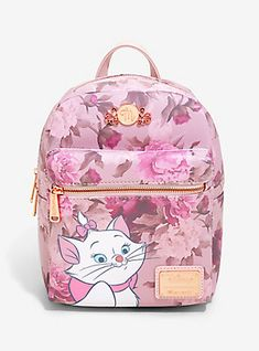 Loungefly Disney The Aristocats Marie Floral Mini Backpack - BoxLunch Exclusive,