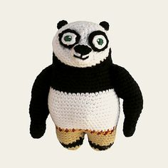 Ravelry: Kung Fu Panda - Dreamworks Animation pattern by Anabel Catalan