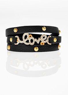 Bracelet that says it all! Venus love wrap bracelet.