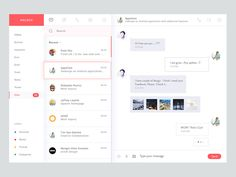 Concept for Messaging desktop app. Feedback is always appreciate. Don't forget to check @2X View, Press F and show some love :) View Attachment Available for Hire: Joychowdhury74@gmail.co...