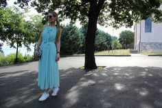Trench Collection by Sonia Verardo: Maxi dress & casual look