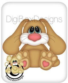 Digital Stuffy Bunny