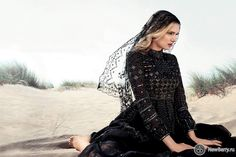 Lily Donaldson на страницах Harper's Bazaar UK