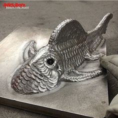 welding art - fish