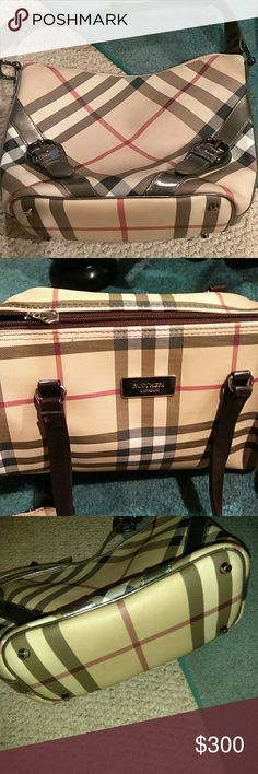 05267b63b895 Authentic Burberry Nova Check Hobo + 1 Nice purse plus one like Mom