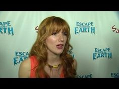 Escape from Planet Earth: Bella Thorne Premiere Interview --  -- http://wtch.it/tC5yR