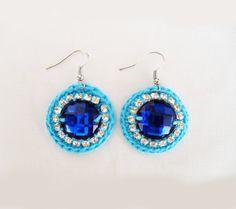 Summer Blue Gipsy Chic Earrings www.maparim.pt