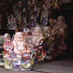 Porcelain Buddhas