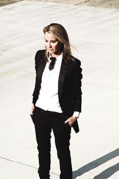 Mandy Shadforth goes street style for Yves Saint Laurent