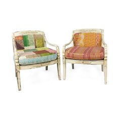 bohemian vintage chairs