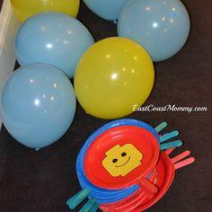 LEGO Balloon Tennis