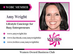 Amy Wright - Lifestyle Concierge for Busy Entrepreneurs Inspiring Mom CEO's to reevaluate life, business and happiness. www.amywright.biz