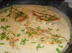 Chicken in Creamy Chipotle Sauce from Food.com:   								This is an easy, creamy and spicy dish, that can be served in about 45 minutes or less, depending on the chicken pieces you choose. Make it as hot as you like. Serve accompanied with white Mexican rice and a side of steamed vegetables. Adjust baking time if using boneless chicken breast so that they don't dry out.