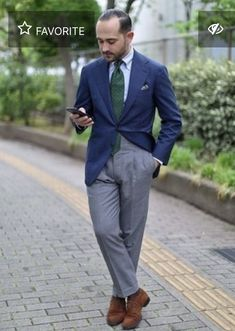 Mature Mens Fashion, Preppy Mens Fashion, Mens Fashion Suits, Mens Suits, Men's Shirts And Tops, Ivy Style, Grey Trousers, Looking Dapper, Professional Attire