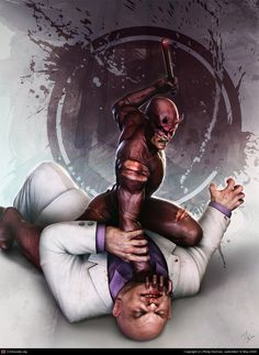Daredevil vs Kingpin,  CGPortfolio - Philip Herman