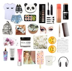 """Senza titolo #68"" by emmizzzz on Polyvore featuring moda, Chicnova Fashion, Converse, Forever 21, Eastpak, Urban Decay, Chanel, Victoria's Secret, Fig+Yarrow e OneSelf"