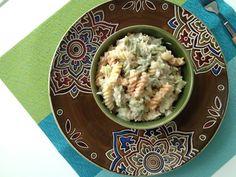 Tuna Pasta Salad - The Cooking Jar Tuna Recipes, Side Recipes, Paleo Recipes, Dinner Recipes, Cooking Recipes, Easy Recipes, Tuna Salad Pasta, Fish Dishes, Main Dishes