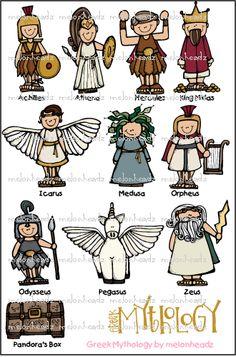 Mythology clip art – by Melonheadz – Norse Mythology-Vikings-Tattoo Greek And Roman Mythology, Greek Gods And Goddesses, Norse Mythology, Hercule, Lore Olympus, Greek Art, Ancient Greece, Clip Art, Reflective Teaching