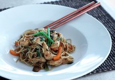 The Dinner Club: Ginger Stir Fry with Soba Noodles