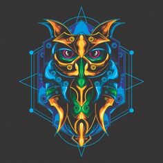 Sugiartoss_ | Freepik Tattoo Background, Background Banner, Background Patterns, Anubis, Free Vector Graphics, Vector Art, Owl Illustration, Masonic Symbols, Symbol Design