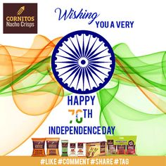 Wishing Happy Independence Day. Today proudly celebrating India's 70th Independence Day and country's 69th anniversary of attaining freedom from the British rule.