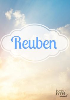 Reuben: It's a little unfortunate that this name became synonymous with a sandwich. Reuben is in fact a fantastic Hebrew choice and one of the twelve tribes of Israel. Parents are starting to look past its delicatessen associations and toward the charming sound and biblical heritage this name offers. Biblical Baby Boy Names