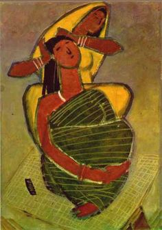 Paintings. Rajasthani Painting, Indian Paintings, Mural Painting, Artist Painting, Bengal Art, Madhubani Art, Indian Folk Art, Beautiful Fantasy Art, Aesthetic Art